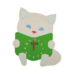 Котик з книжкою  (FLK-121 PG)